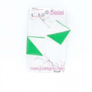 Green Earrings One