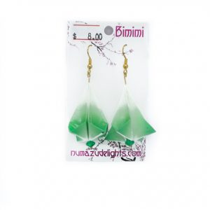 Green Earrings Two
